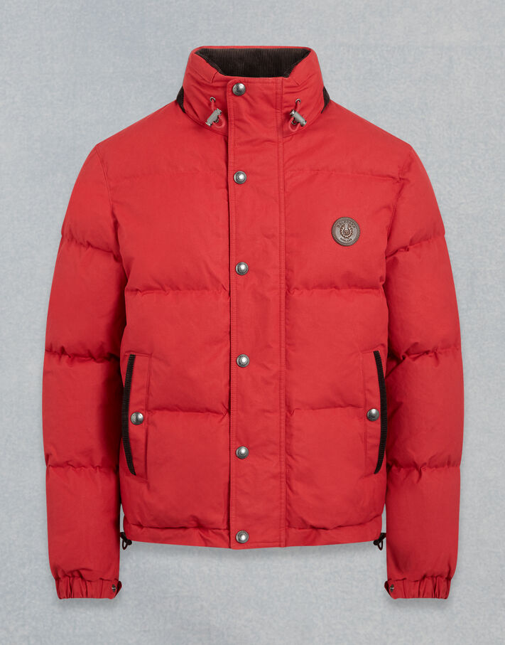 Belstaff AVIATION WAXED JACKET Red