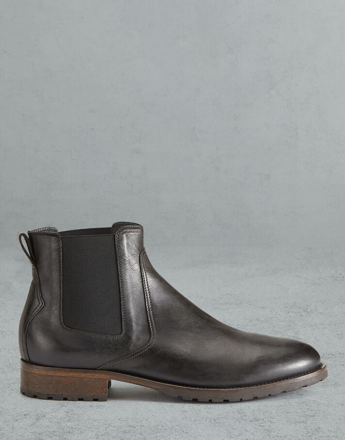 Belstaff RODE LEATHER BOOTS Black