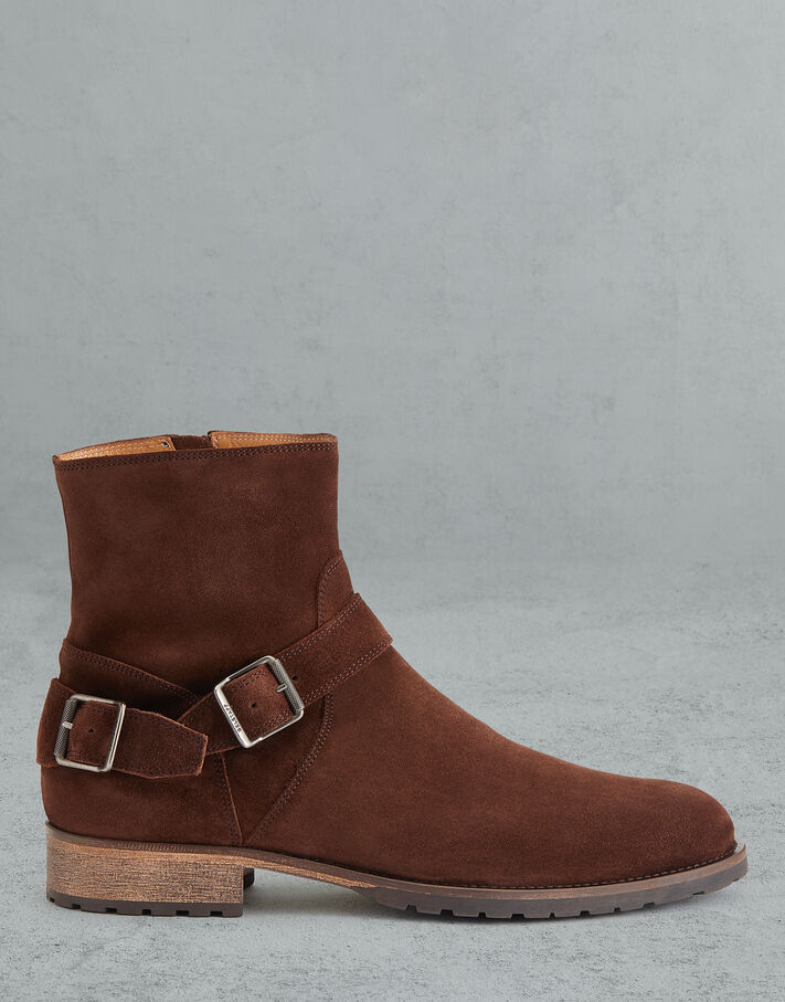 Belstaff TRIALMASTER SUEDE BOOT Brown